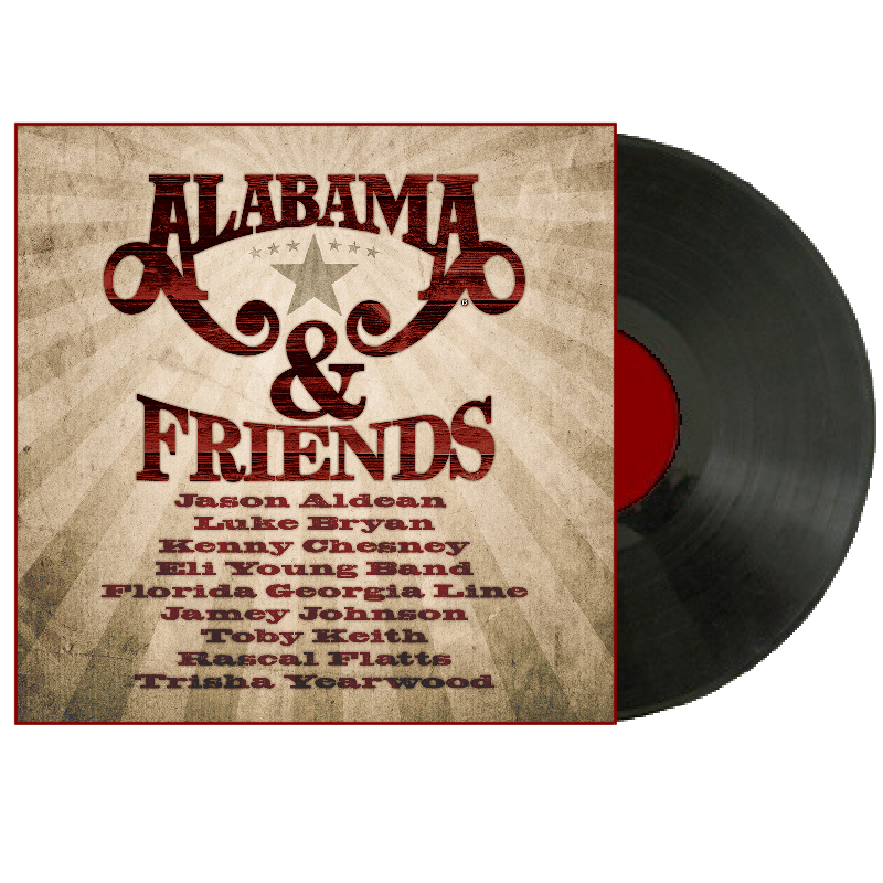 Alabama LP- Alabama and Friends