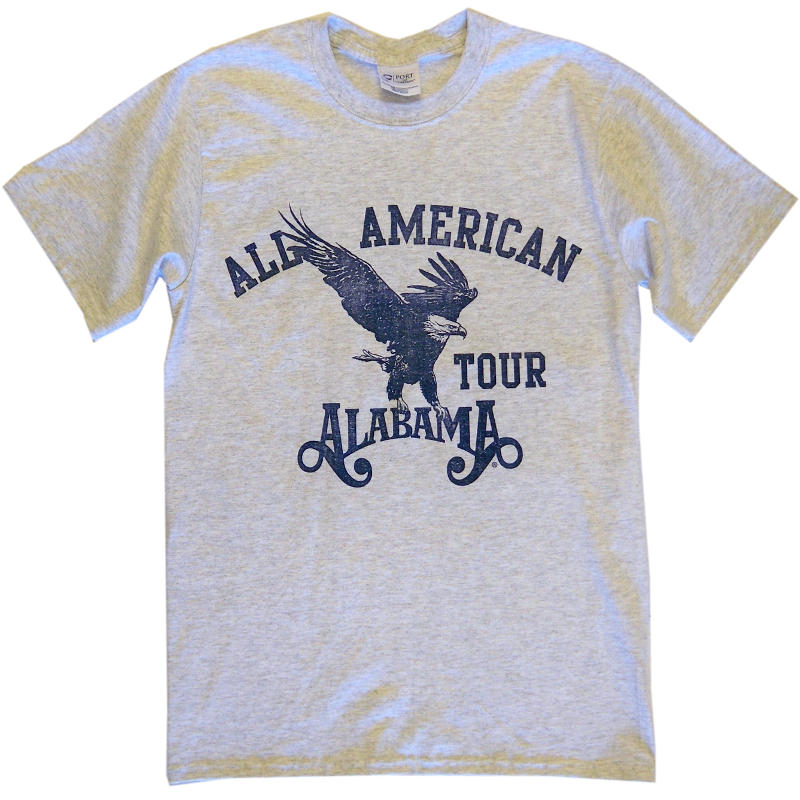 Alabama Ash Eagle Tee