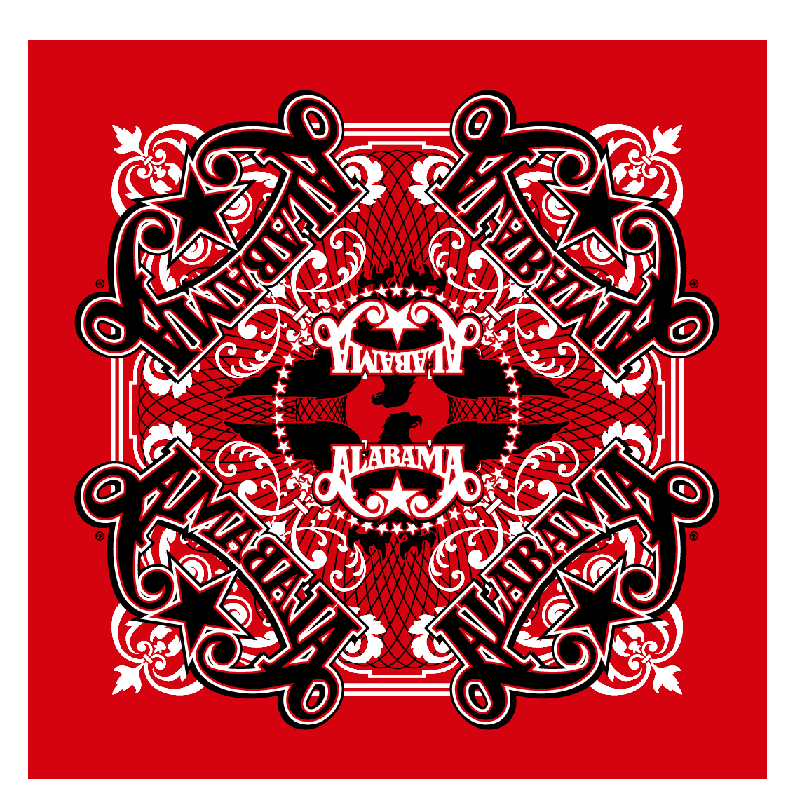 Alabama Red Bandana