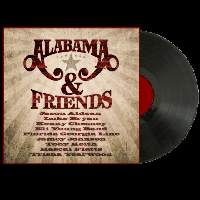 Alabama LP- Alabama and Friends