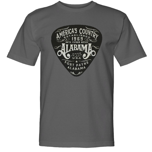 Alabama Charcoal America's Country Tee