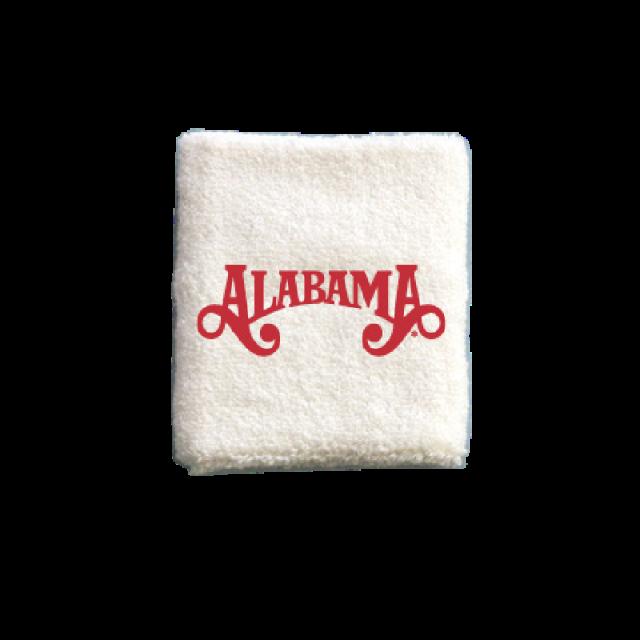 Alabama White Sweatband