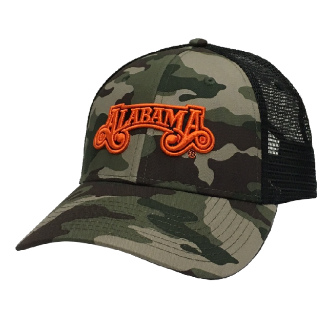 Alabama Camo and Black Ballcap