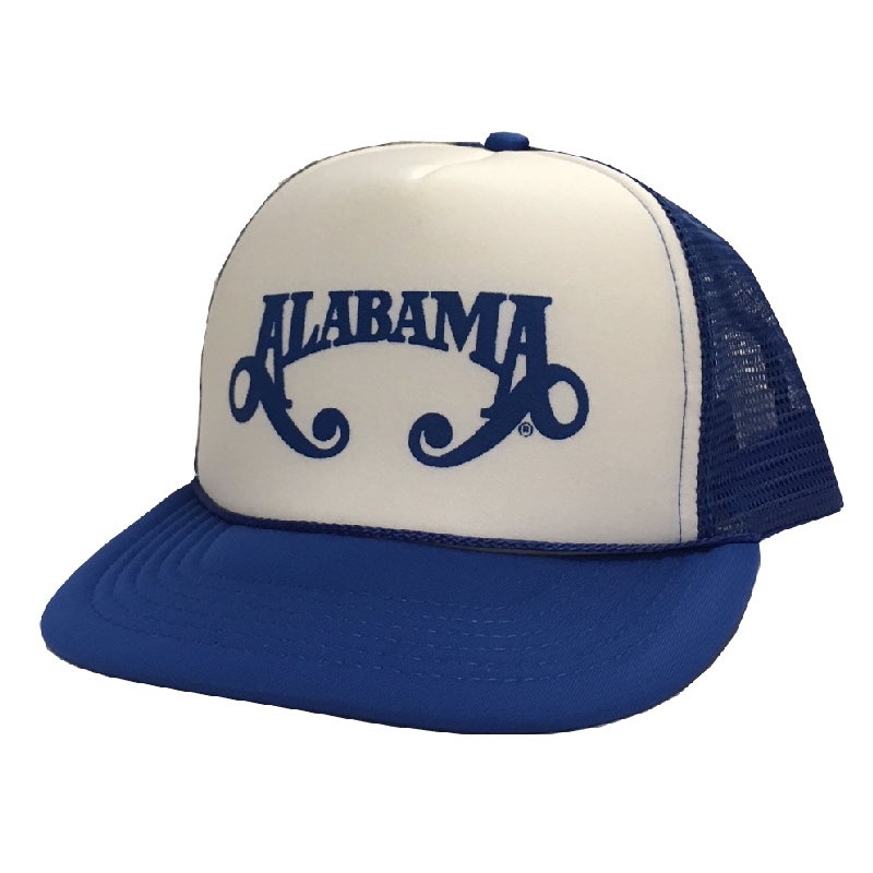 4ac89bc0dc Alabama Royal Blue Trucker Hat - Alabama Store