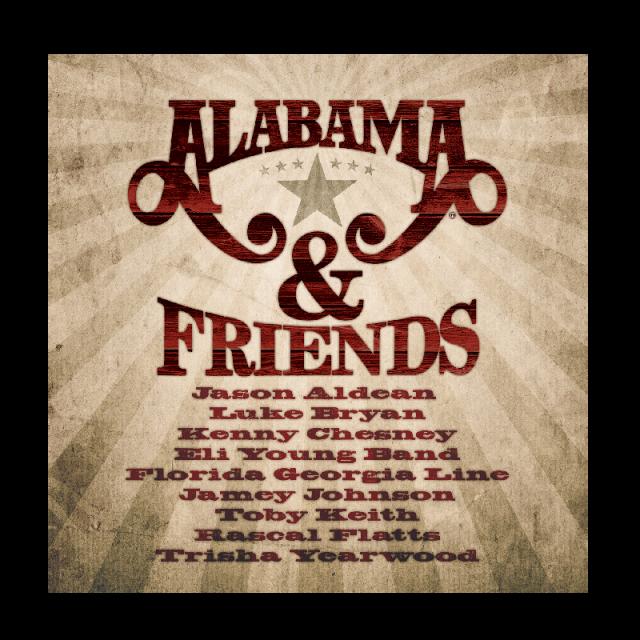 Alabama CD- Alabama and Friends