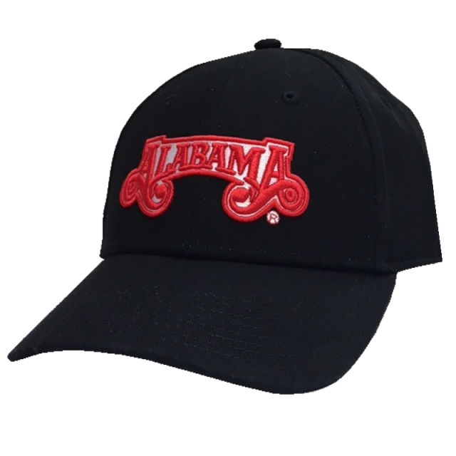 Alabama Black Ballcap