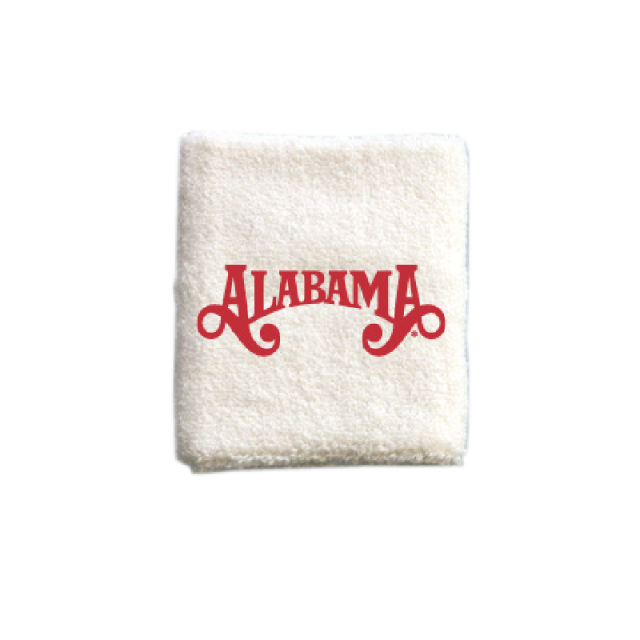 Alabama White Sweatband